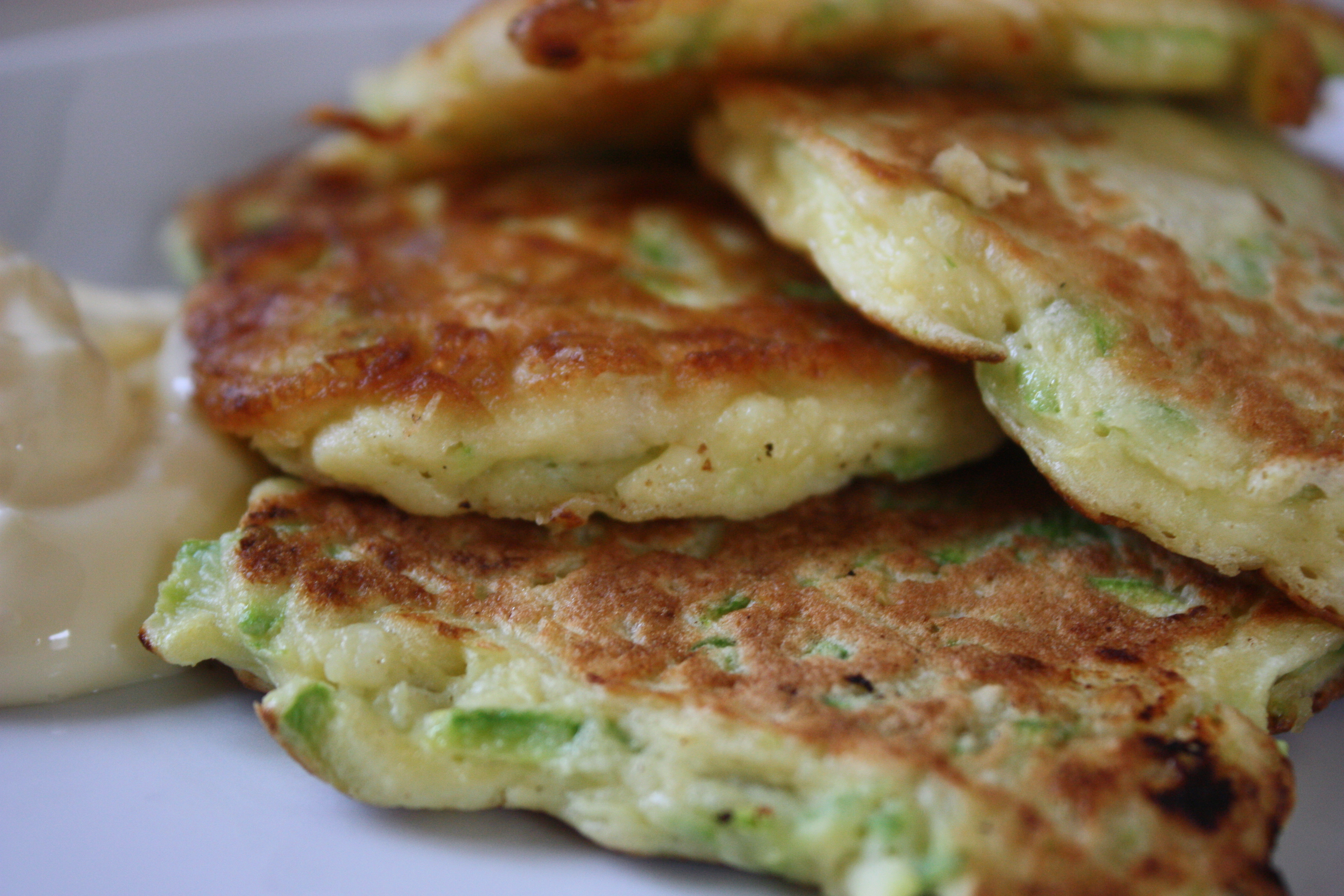 Zucchini Pancakes | Experiments from a Tiny Kitchen in Shanghai