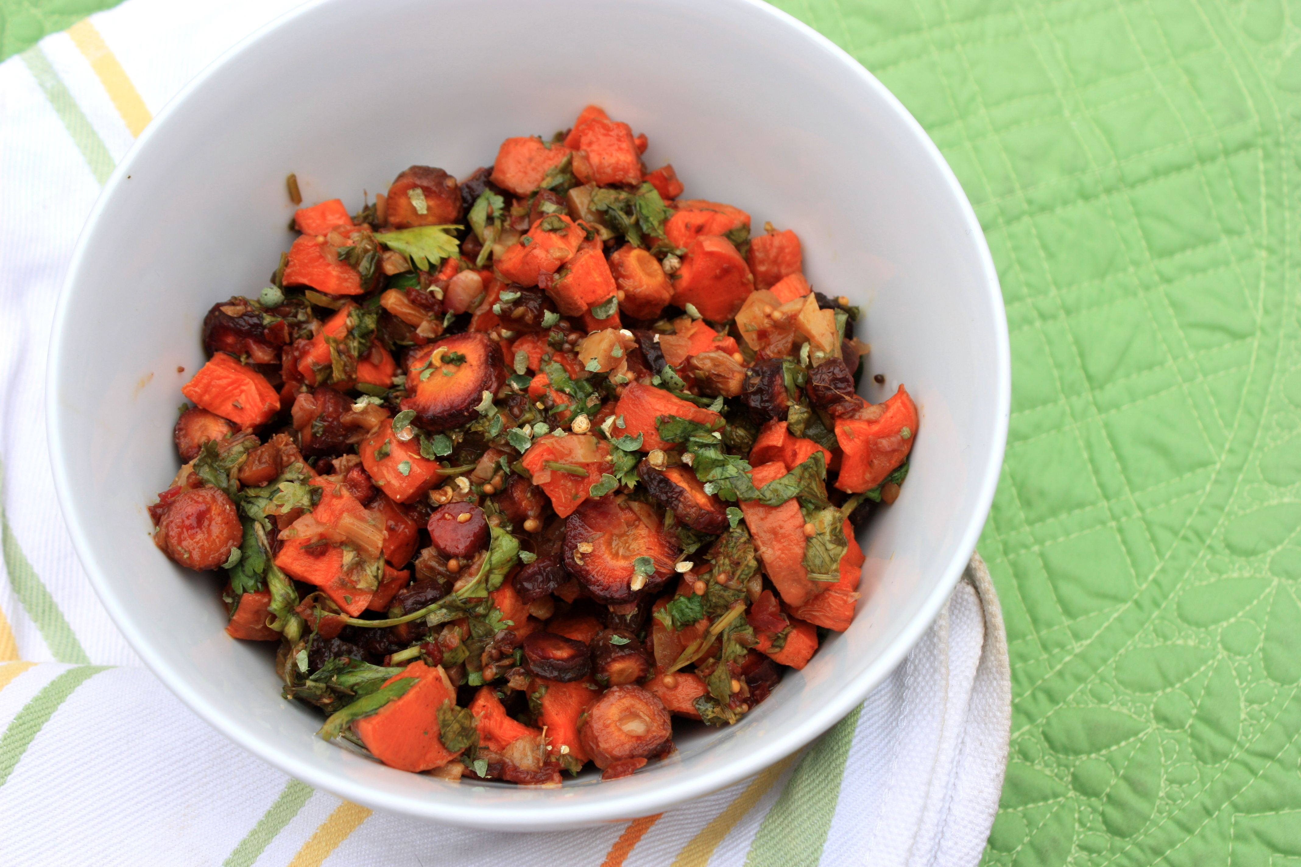 Moroccan Carrot Salad | Experiments from a Tiny Kitchen in ...